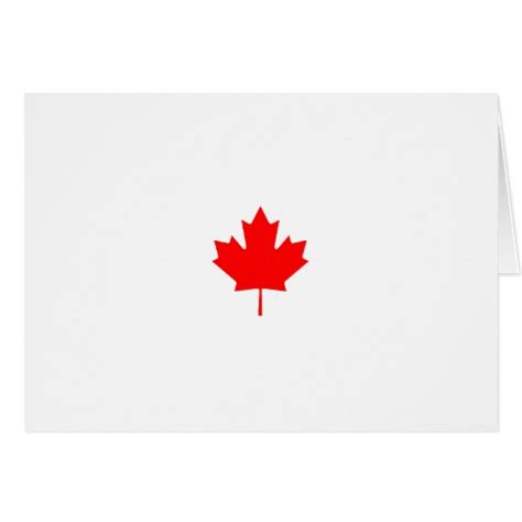 printable christmas cards canada canada maple leaf logo greeting card zazzle
