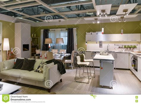 kitchen furniture store furniture store home interior ikea editorial photography