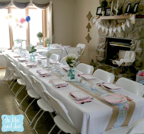 bridal shower decoration images the blue eyed dove a shabby chic bridal shower part 1