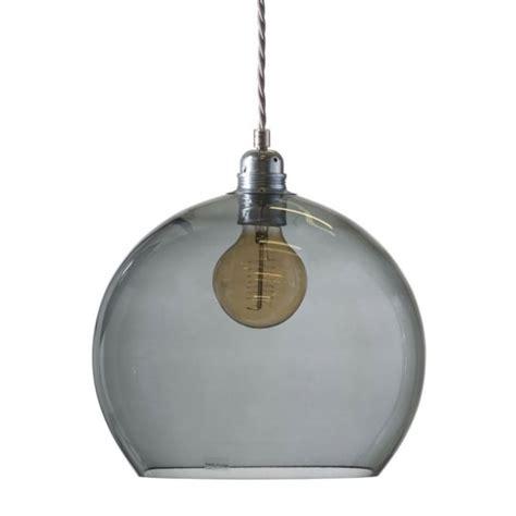 smokey glass pendant light smokey grey blown glass medium size ceiling pendant with