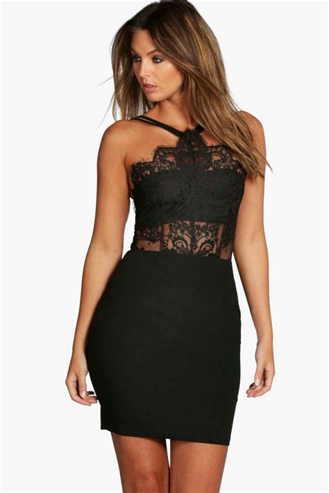 Bodycon Dress boutique eyelash bodycon dress at boohoo