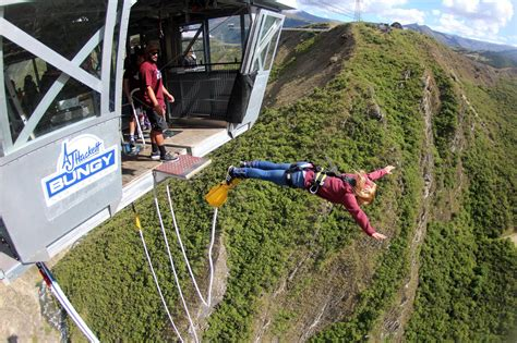 bungee swing nevis bungy or nevis swing in queenstown everything