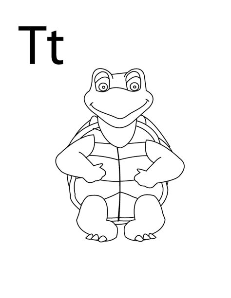 Coloring Pages Letter T Coloring Home Letter T Coloring Page Pdf