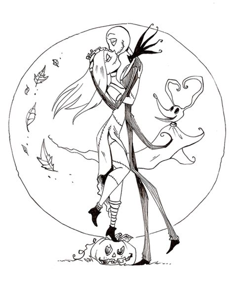 Coloring Pages Jack Skellington Coloring Pages Cool Nightmare Before Coloring Pages For Adults