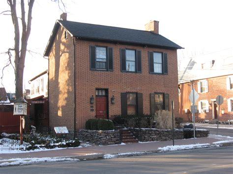 battle house gettysburg s sweney house farnsworth house battle damage gettysburg daily