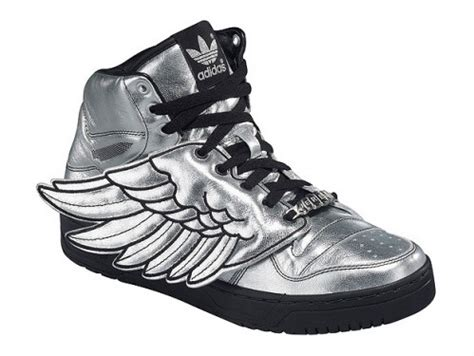 for adidas js wings sneakers silver nitrolicious