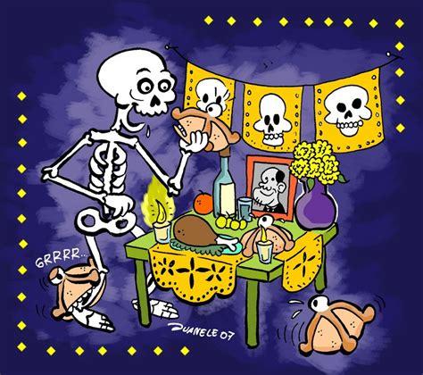 imagenes animadas de ofrendas de dia de muertos banco de im 193 genes d 237 a de muertos altares y ofrendas