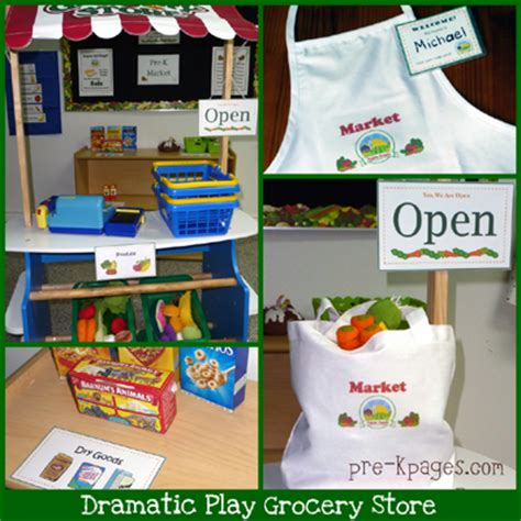 themes for grocery store dramatic play grocery store printables