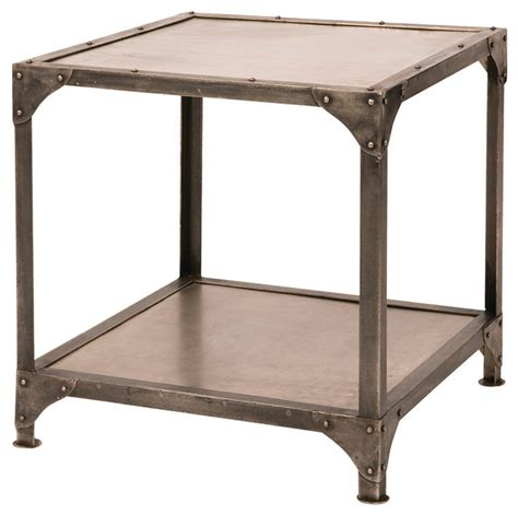 industrial accent table element end table industrial side tables and end