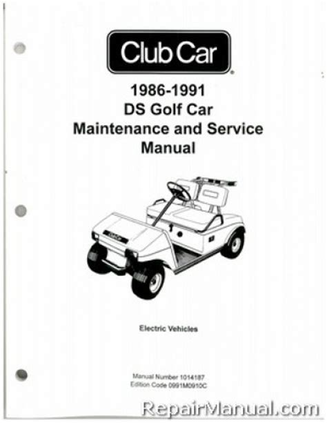what is the best auto repair manual 1991 lotus esprit parking system 1986 1991 club car ds golf car electric service manual