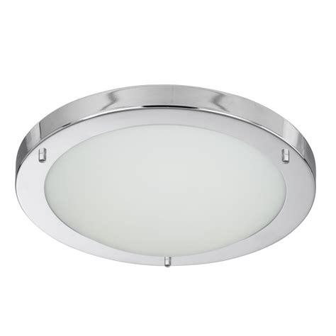 led flush fitting bathroom ceiling light opal glass with chrome ring searchlight lighting led flush bathroom ceiling fitting in polished chrome finish with opal