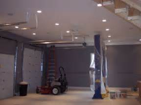Best Lighting For Two Car Garage How To Install Overhead Garage Lighting Garagelightinghq