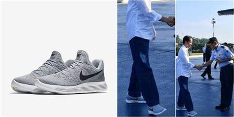 Sepatu Nike Jokowi til kekinian di tasikmalaya sepatu nike jokowi curi