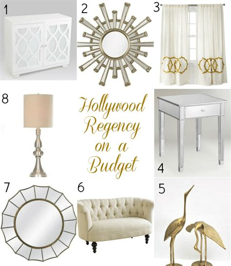 hollywood regency the look on a budget hollywood regency the happier