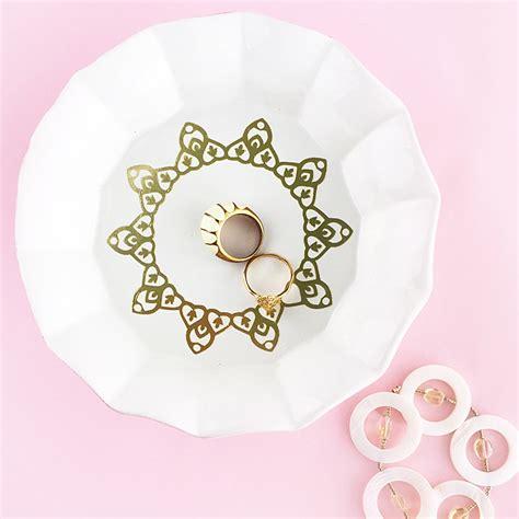gold tattoo paper diy ring dish with gold tattoo papermaritza lisa