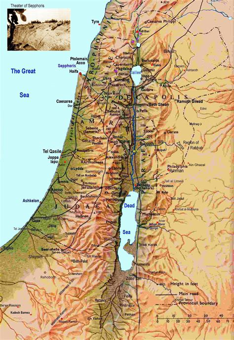 isreal map israel map israel mappery