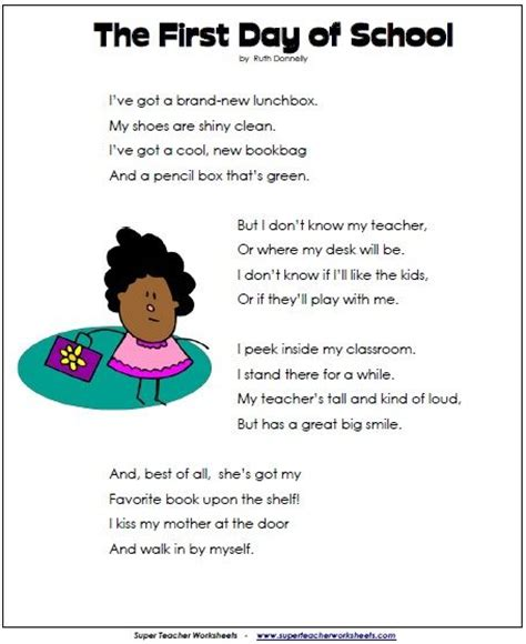 libro schools first day of poems first day of and poem on