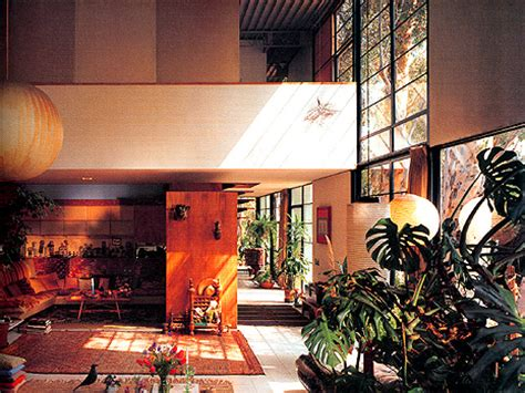 Eames House Interior by Ad Classics Eames House Charles And Eames Archdaily