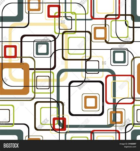 Retro Vivid Square Pattern Stock Vector Stock Photos Bigstock | retro vivid square pattern stock vector stock photos