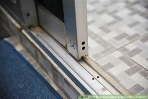 How To Remove Sliding Glass Door by How To Remove Sliding Glass Shower Doors 6 Steps With
