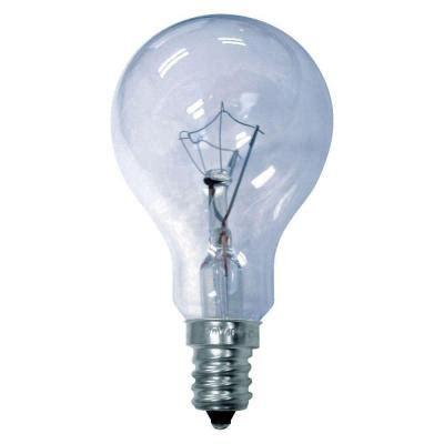 Ge Reveal 40 Watt Incandescent A15 Multi Use Ceiling Fan Ceiling Fans With Regular Light Bulbs