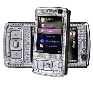 Nokia N95 Gets More Desirable With Diamonds by Free Nokia Software Mobile9 Http Htibuilders