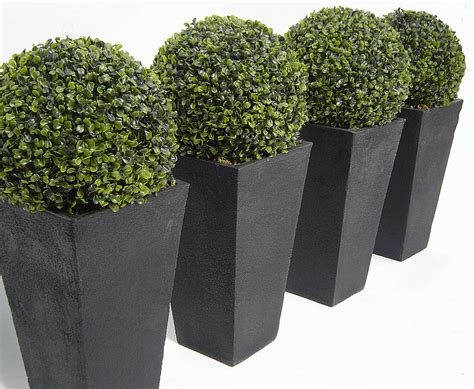 giant artificial boxwood topiary ball by artificial