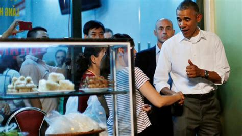 Hes The President In Residenthes Of In Cha 2 by Why B 250 N Chả Was The Dish For Obama And Bourdain To