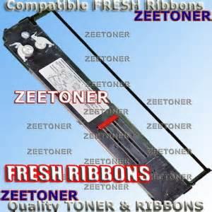 Ribbon Oki Ml 393 395 3410 2 pack okidata microline 393 394 395 3410 ribbons zeetoner