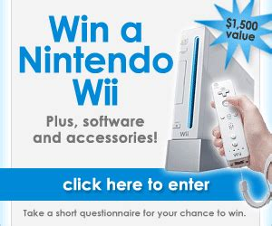 Our Wii Winner by My Wii Chronicles Winning Surveys Win A Nintendo Wii