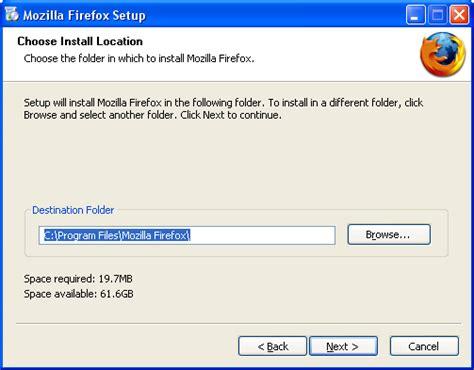 Installing Firefox on Windows - MozillaZine Knowledge Base Install Firefox