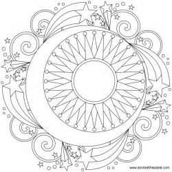 moon coloring pages for adults don t eat the paste mandala to color