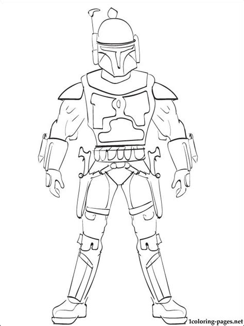 lego wars boba fett coloring pages wars jango fett printable page to color coloring pages