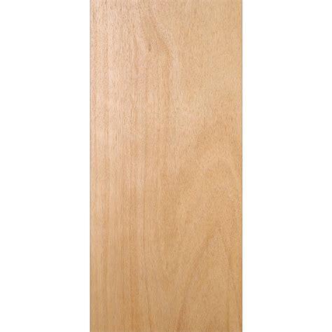 24 Interior Door Slab by 24 In X 80 In Unfinished Flush Hardwood Interior Door