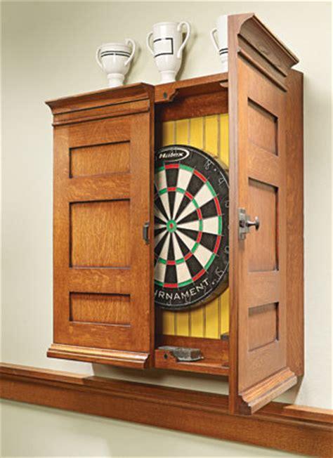 dartboard cabinet woodsmith plans