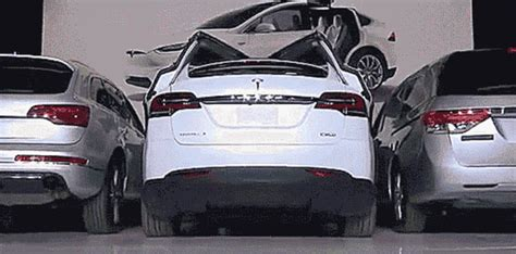 tesla model x finally revealed in california pakwheels