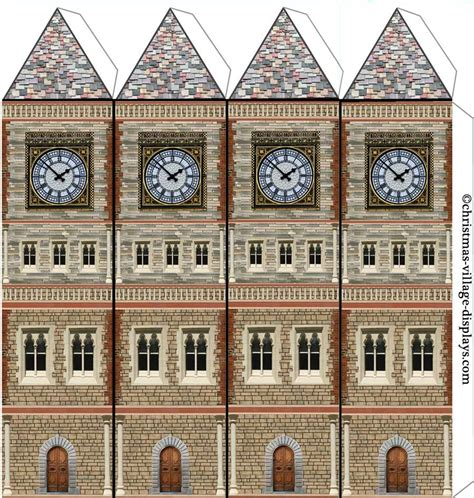 Carton Mod 232 Le Maison Mod 232 Le Imprimable Template De Mod 232 Le Casas Castillos De Papel Pinterest Free Building Templates