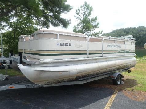 smoker craft pontoon pontoon smoker craft boats for sale boats