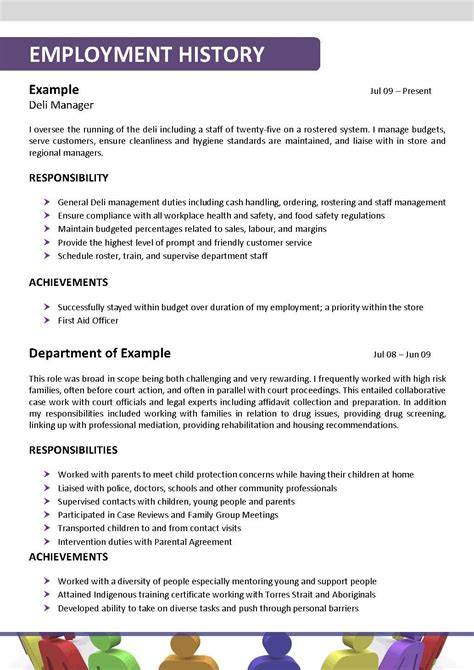 Social Worker Resume Templates by Social Worker Resume Template 139
