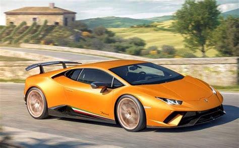 All New Lamborghini All New Lamborghini Huracan Performante To Launch In India