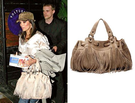 Gerard Darel Fringe Bag As Worn By Longoria And Alba The Bag by Found S Fringe Leather Handbag Popsugar