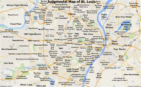 st louis on map judgmental maps st louis mo by steve k copr 2016