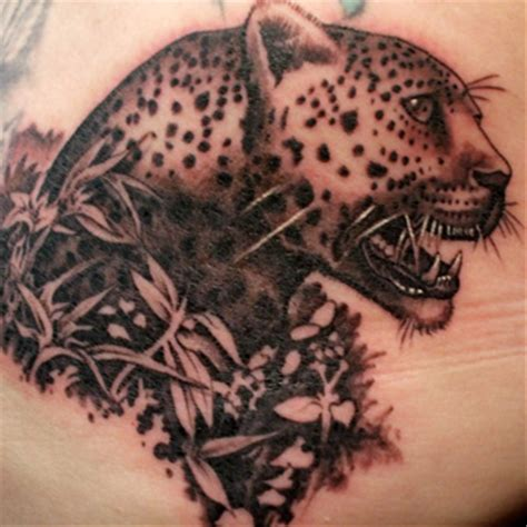 small cheetah tattoos leopard meanings itattoodesigns