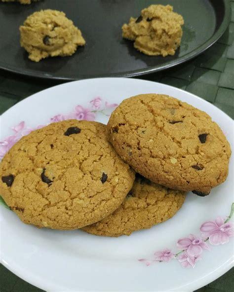 biskut paling sedap resepi biskut oat chocolate chip cookies ala subway