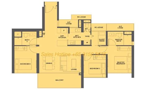 canopy floor plan the clement canopy by uol view showflat 65 6100 1380