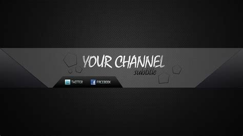 Speed Art Youtube Channel Banner Premium Template Youtube Channel Banner Template