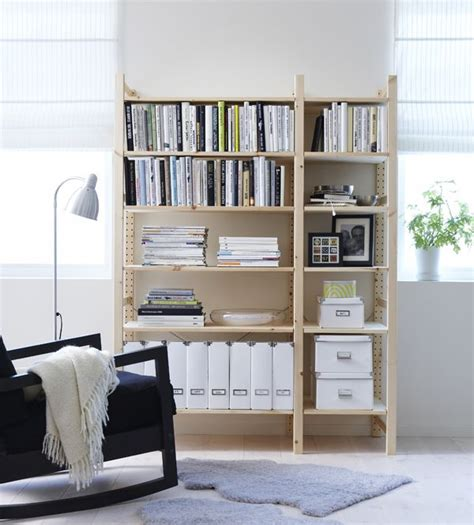 Ikea Wohn Arbeitszimmer by Ivar 2 Section Shelving Unit Pine Arbeitszimmer