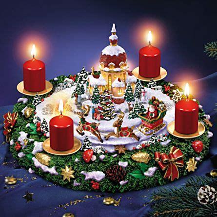 babbo natale illuminato il sogno natalizio illuminato di babbo natale