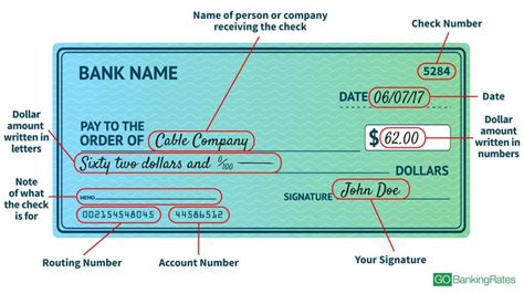 how to write a check gobankingrates