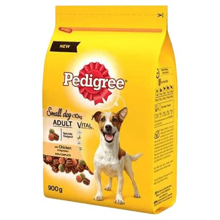 Pedigree Beef Vegetable pedigree small complete with beef and vegetables
